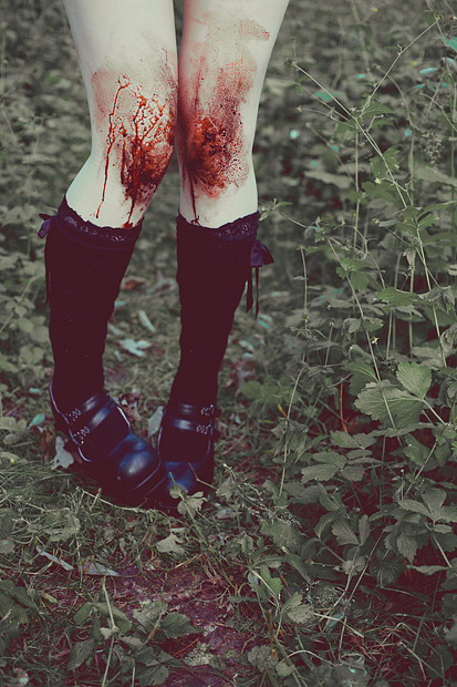 blood, cool, legs, socks