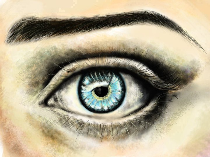 blue, color, cute, eye, girl