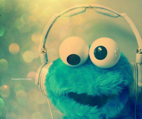 blue, cute, headphone, music, toy
