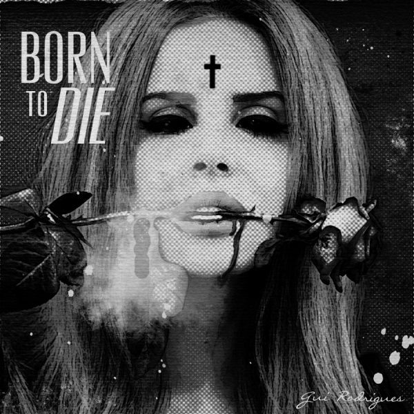 born to die, cross, lana del rey, rose
