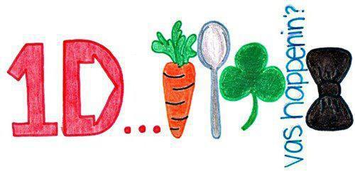 bow, carrot, clover, fit, harry styles