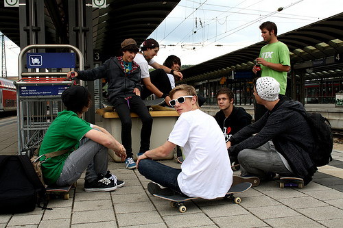 boy, boys, cute, glasses, man, men, skate, skaters, street