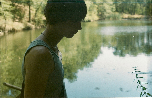 boy, cute, forest, green, guy, lake, model, nature, photography