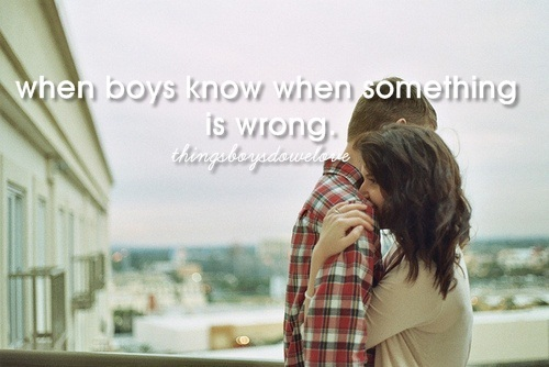 boys, couple, cute, girls, hug, know, love, sweet, when boys, wrong