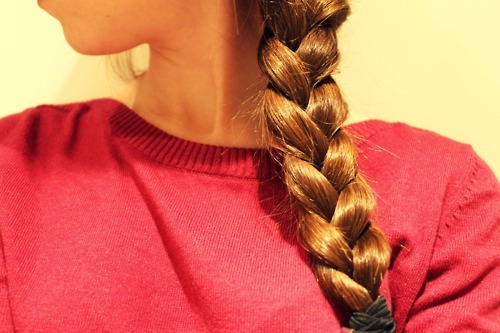braid, braided hair, braids, brown hair, cute