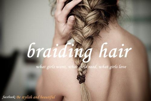 braid, braiding hair, french braid, girl, hair