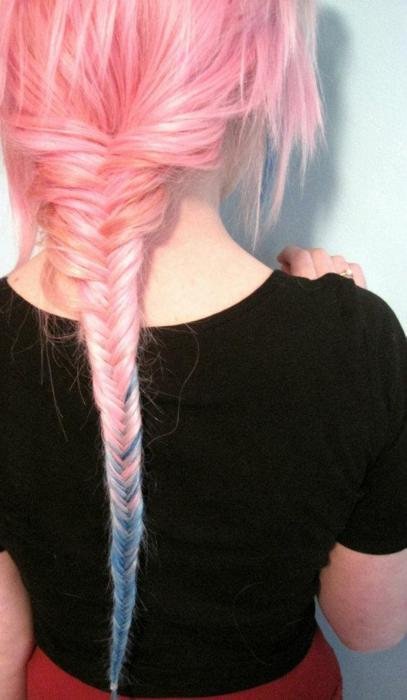braid, color, colored hair, colorful, farah leroy