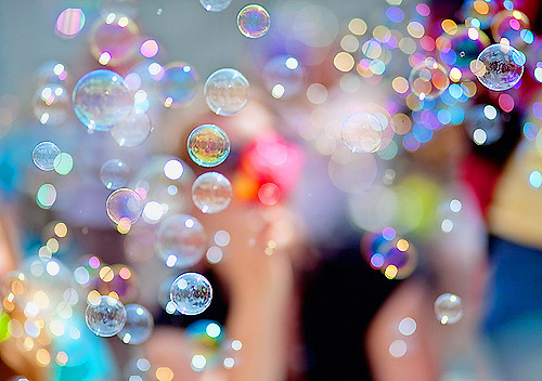 bubbles, colors, glitter, happiness, happy