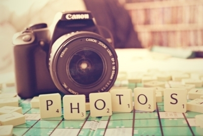 camera, camera photos, cannon, inspiring, letters, photography, photos, picture, scrabble