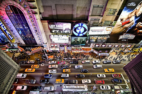cars, manhattan, new york, new york city, nyc