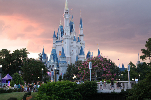 castle, disney, magic, nature, photography