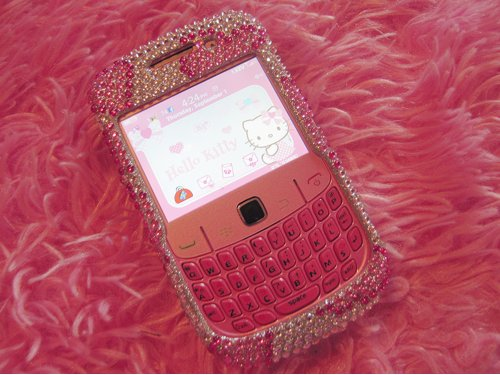 cellphone, kawaii, paint
