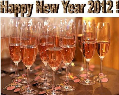 champagne, cheers, countdown to 2012, happy new year, new years eve 2012