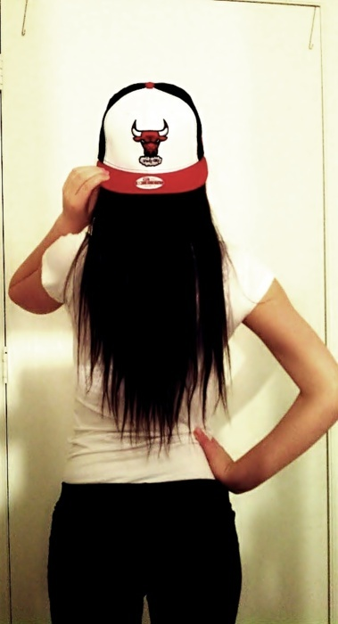 chicago bulls, girl, snapback, snapbacks
