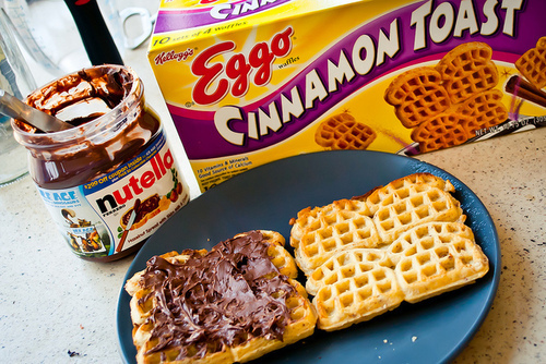 chocolate, cinnamon toast, food, nutella