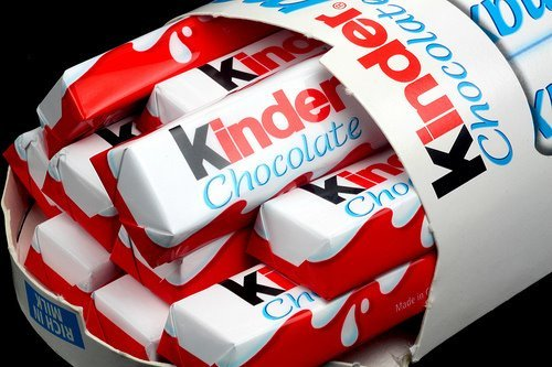 chocolate, food, ivaa stojcic, kinder, photography, red, yummy