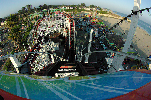 coaster, colors, eye, fish, fisheye, hipster, park, rollar coaster, rollercoaster, sky, theme, theme park