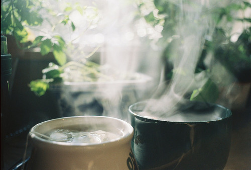 coffee, cups, mug, mugs, steam, tea