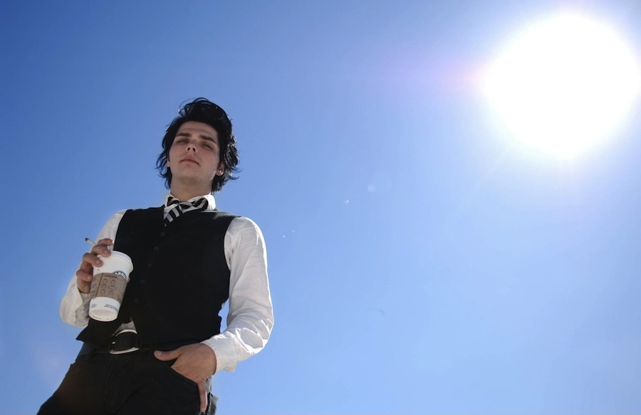 coffee, gee, gerard way, gerd beautiful, handsome