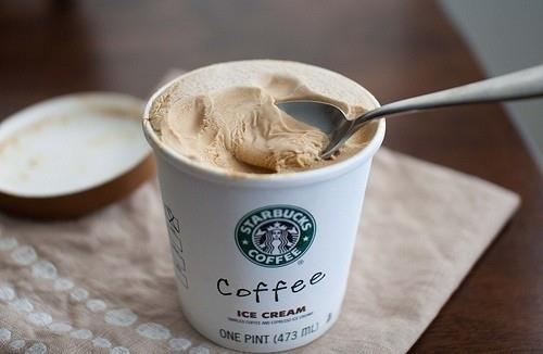 starbucks coffee ice cream