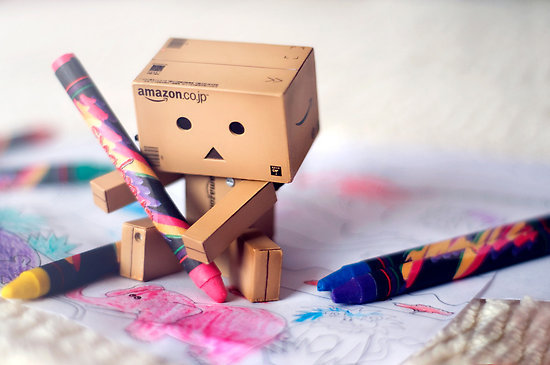 coloring, colors, crayons, cute, danbo