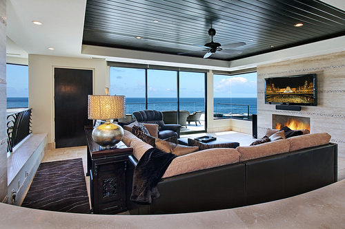cool, decoration, livingroom, luxury, ocean