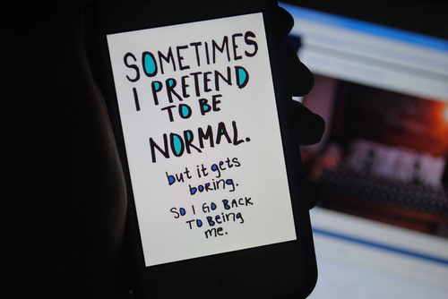 cool, iphone, ipod, life, normal, quote, text, truth