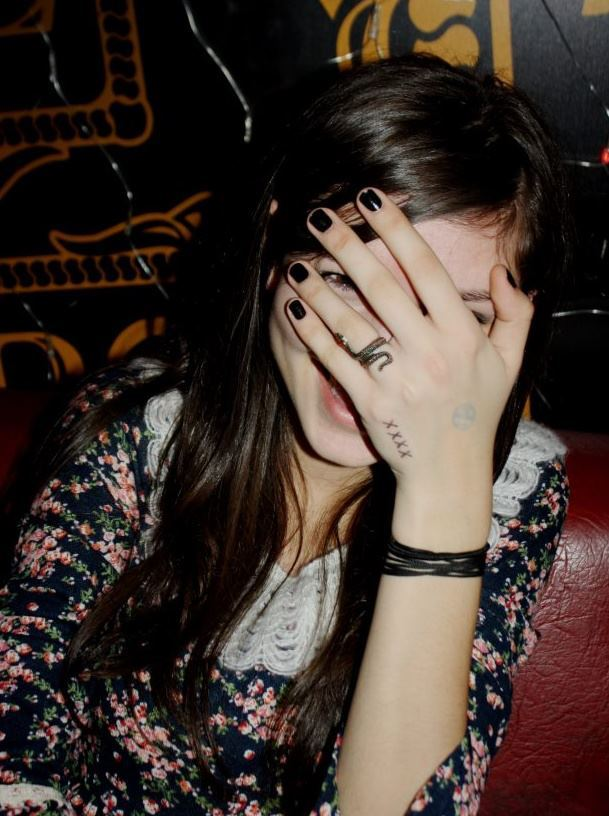 cute, dress, fashion, floral, girl, nails, nice, party, pretty, ring, smile, xxxx