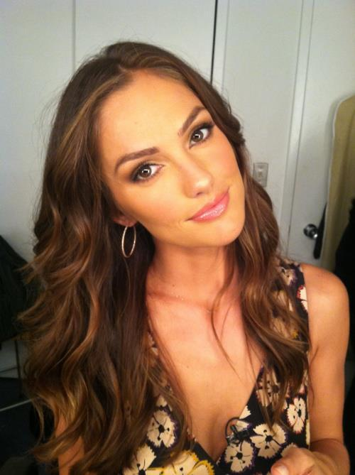 cute, eye, eye shadow, eyes, face, fashion, hair, hot, makeup, minka kelly, pretty, sequins, style
