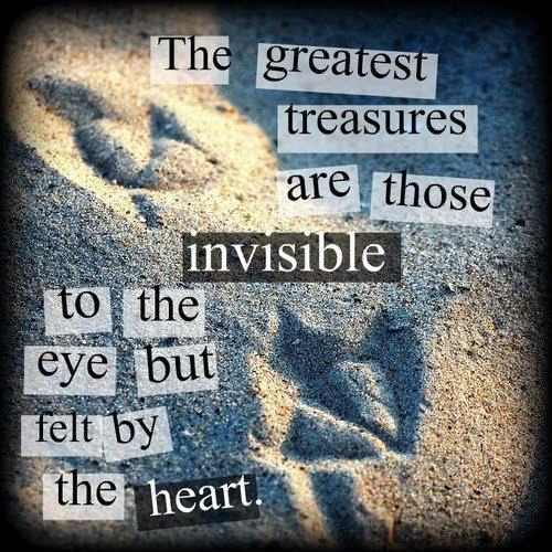 cute, eye, heart, hope, love, quote, sand, text, treasures