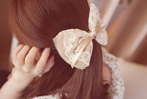 cute, fashion, girl, hair, hairclip, photography, pretty, ribbon, ring
