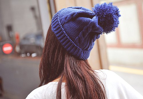 cute, girl, hat, winter