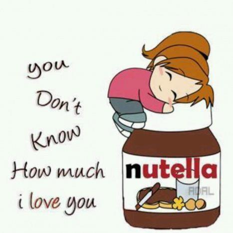 dear, girl, love, nutella