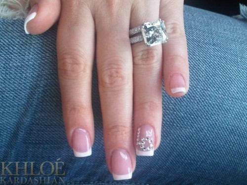 diamond, engagement ring, nails, ring