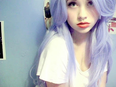 diva, girl, hair color, purple hair - image #356661 on Favim.com