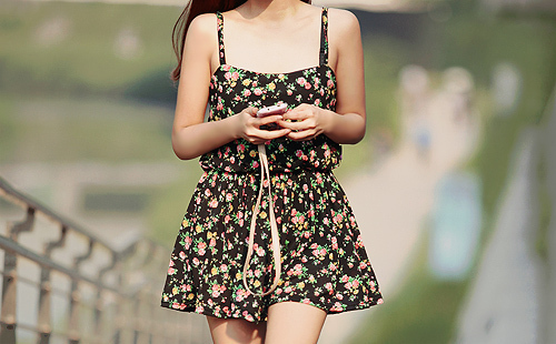 dress, fashion, floral