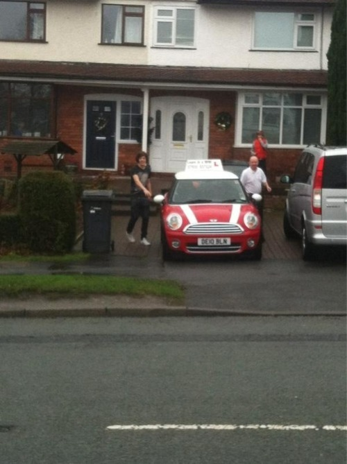 driving test, good luck harry, harry, harry styles, one direction