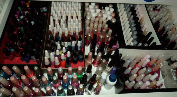 enamels, esmaltes, fashion, girl, glazes