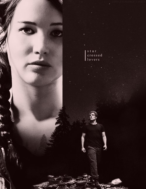 everdeen, hunger games, katniss, lovers, mellark
