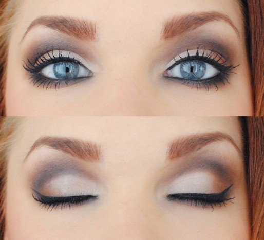 eye shadow, make up, make-up, smokey