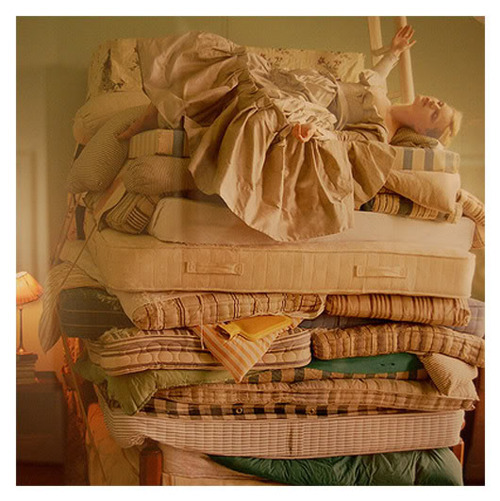 fairy tale, mattresses, princess, princess and the pea, storybook