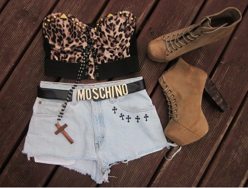 fashion, girl, girly, heels, jeans, omg, shoes, shorts, want