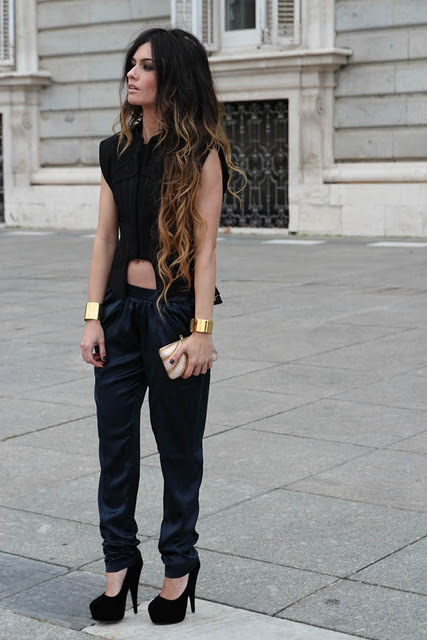 fashion, girl, ombre, ombre hair, style