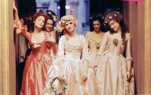 fashion, kirsten dunst, marie antoinette, movie, pretty