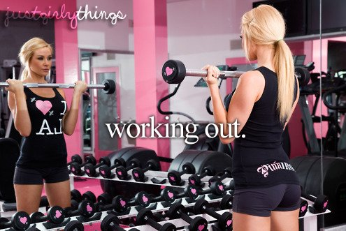 fitspo, girl, i want it, just girly things, out