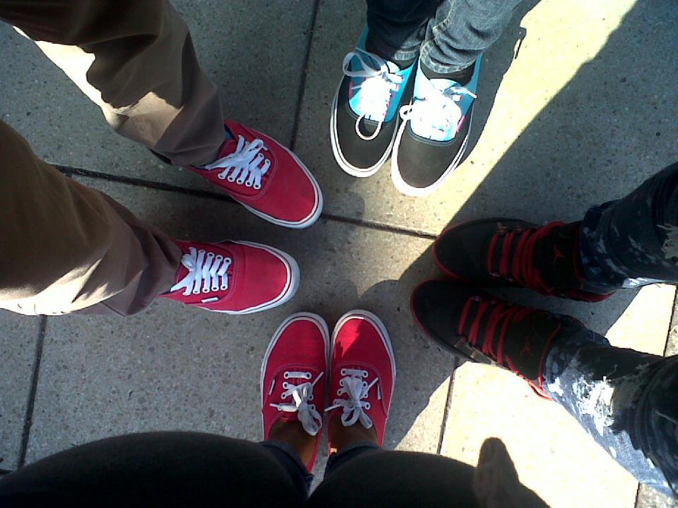 friends, jordans, people, swag, vans