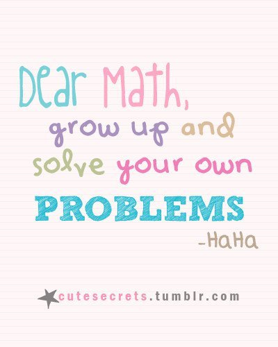 Funny Math Quote Quotes School