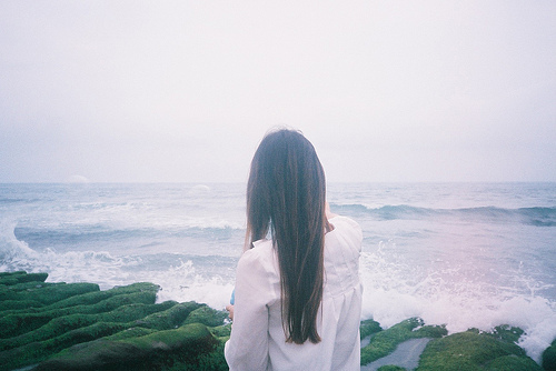girl, hair, nature, ocean, photography