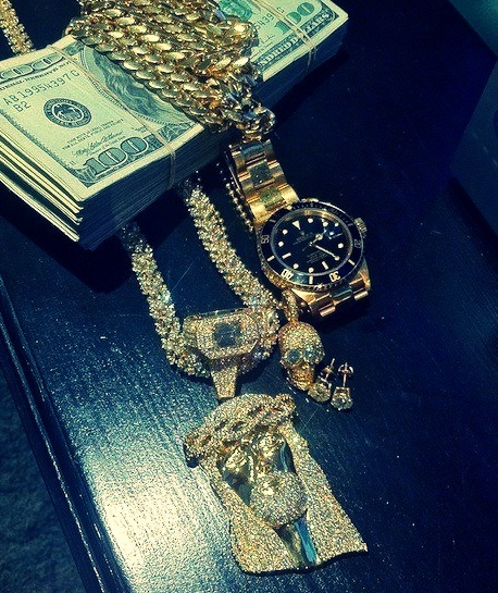 gold, money, young money