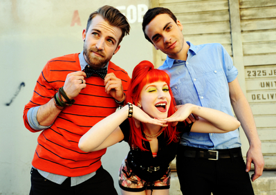 hayley williams, jeremy davis, paramore, taylor york